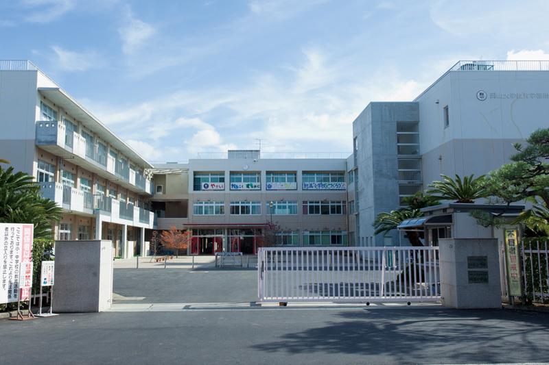 岡山大学附属小・中学校 約510m(徒歩7分)