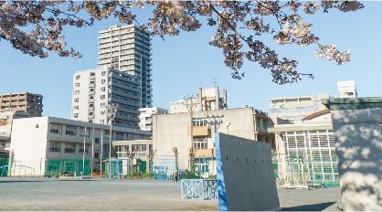 市立 伝馬町小学校 約650m(徒歩9分)