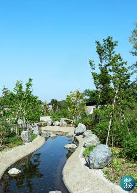 草津川跡地公園(de愛ひろば) 約230m(徒歩3分)
