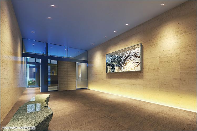 モダニズムを纏う美術館のような迎賓空間。