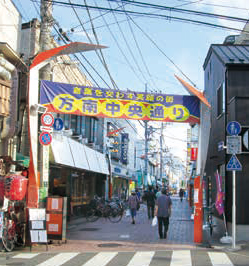方南町銀座商店街 約710m(徒歩9分)