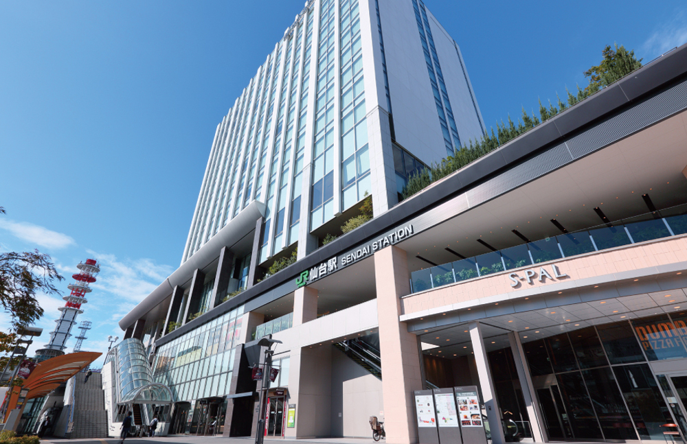 JR「仙台」駅 約520m(徒歩7分)