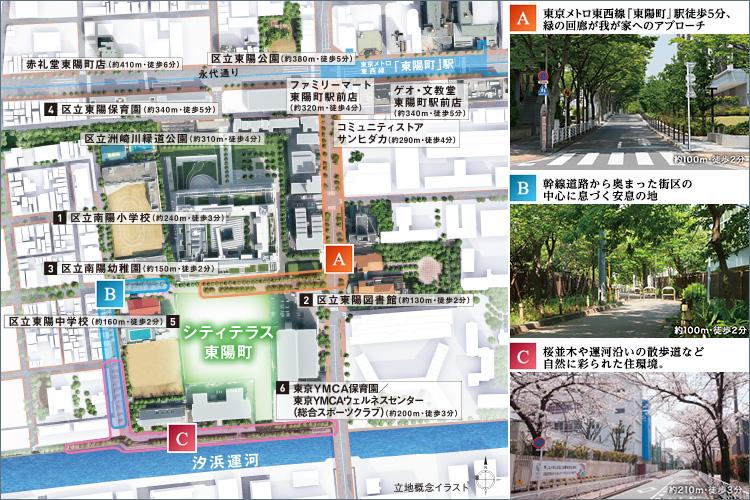 ■「大手町」駅直通9分。TOKYOクロスライン東京メトロ東西線を使いこなす。