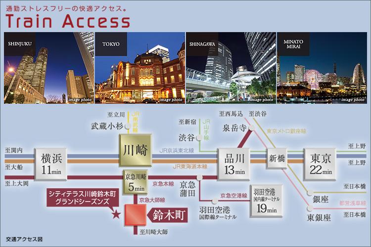 ■京急大師線「鈴木町」駅より