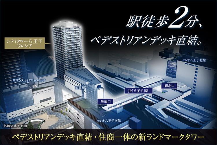 【住商一体の新ランドマークタワー】