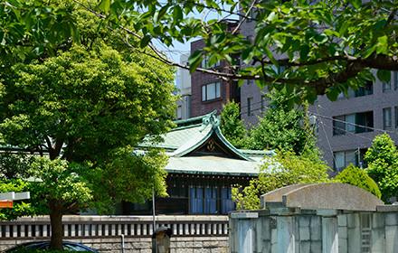 鉄砲州神社 約120m(徒歩2分)