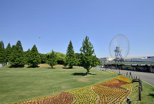 万博記念公園 約670m(徒歩9分)