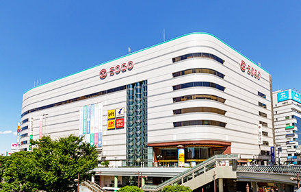 そごう 川口店 約490m(徒歩7分)
