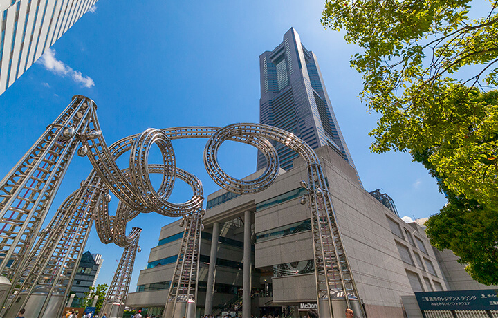 クイーンズスクエア横浜 約960m(徒歩12分)