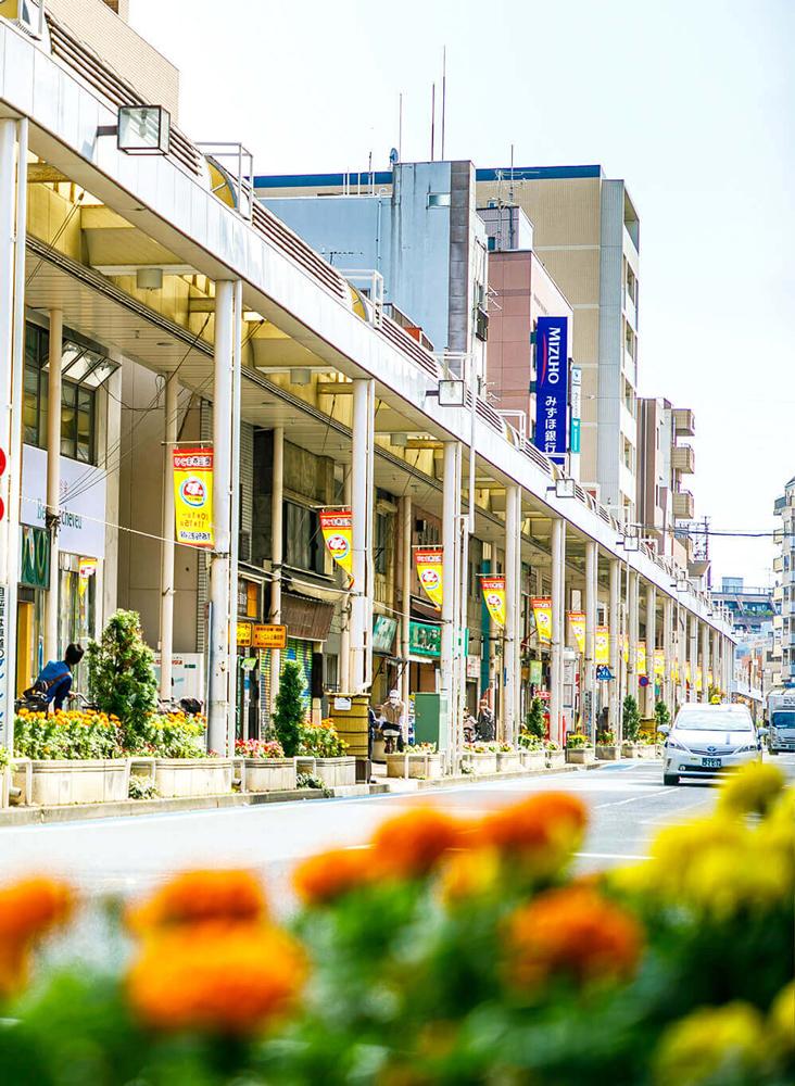 小岩フラワーロード商店街 約30m(徒歩1分)