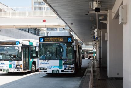 藤崎バスターミナル 約150m(徒歩2分)