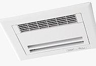 浴室の湿気をすばやく解消し、雨天時の洗濯乾燥や寒い季節の入浴前暖房も可能です。24時間換気乾燥機能付で、防カビにも役立ちます。
