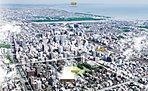 航空写真※掲載の航空写真は平成28年3月に撮影したものに、一部CG処理を施したもので、実際とは異なります。