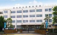 足立区立花保中学校 約640m(徒歩8分)