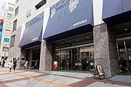 山交百貨店 約780m(徒歩10分)