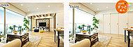 居住空間に柔軟性をもたせて、ご家族のライフスタイルの変化、用途に合わせることが簡単にできます。