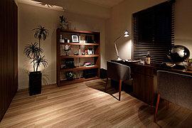4LDK なら1室趣味部屋にも。ライフスタイルに合わせて使えます。