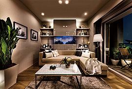 多彩なライフスタイルを想定し、細部まで暮らしやすさを追求した設計プランのもと、優雅で贅沢な空間を創造しました。
