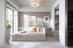 ベッドルーム 銀座コンセプトルームではお住まいになる部屋のイメージを確認する事ができます。