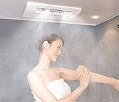 発汗、血流、保温、保湿などさまざまな効果があるミストサウナを採用。ミストサウナは低温・高湿度で息苦しくならず、心も体もリラックスできます。