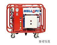 高分子RO(逆浸透)膜を利用したシステムで、建物内の防火水槽から取水し、スピーディーにろ過して飲料水を供給します。