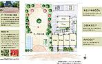 隣接する「平一町目公園」の潤いと調和する配棟計画。駅近立地でありながらも、隣接する公園が住まいに開放感と落ち着きをもたらします。憩いの場としても、遊び場としても、わが家の庭のように利用できます。