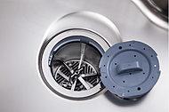生ゴミを独自の回転ブレード破砕方式で静かに簡単に処理します。バスケットを取り外して洗えるのでクリーンな状態を保てます。