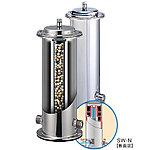 [実用新案登録済第3137167号]※装置は水道法で定められた基準値内で浄活水されます。※カートリッジには交換費用がかかります