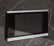 マイクロバブルバスのスイッチを内蔵した浴室TVを標準装備しました。
