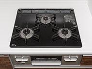 料理に合わせて火力調整をすることで中華料理から煮物まで、料理作りをサポート。機能美はもちろん、汚れにも強く、お手入れも簡単です。
