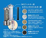 「たからの水」は家庭内で使うすべての水を美味しく安全な水にするウォーターシステムです。
