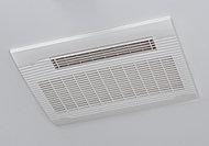 雨の日や急ぎの時も洗濯物を乾かせる浴室換気暖房乾燥機を設置。浴室の除湿・カビ予防にも効果的です。