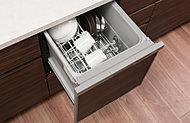 家事をサポートするビルトイン食器洗い乾燥機を標準装備。ビルトインなので邪魔にならず時間と水と洗剤を節約できます。