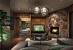 大切なゲストが宿泊することの出来るゲストルーム。ゆったりとした空間、質感豊かな調度品が、ホテルライクなラグジュアリーな時間を創出します。
