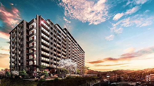 外観 ※建物の竣工写真は2021年3月に撮影したものです。