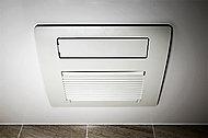 浴室全体が温まる温水式浴室暖房乾燥機