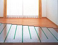 リビング・ダイニングには心地良く暖めるガス温水式床暖房を採用。塵や埃が舞い上がらないため、室内の空気が汚れる心配がありません。