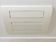 カビの発生を抑止し、浴室内を衛生的に保ちます。暖房機能付で寒い時期も快適。洗濯物を乾かすこともできます。