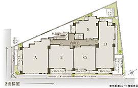全戸南東or南西向き。南東または南西向きに、1フロア2~5邸をレイアウト。約69%(26戸18戸)が角住戸となり、優れた採光・通風を実現。さらにワイドスパンなど開放感を高めるさまざまなプランを採用しました。