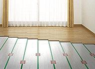 心地よく暖めるTES温水式床暖房を採用。塵や埃が舞い上がりにくいため、室内の空気の汚れがあまり気になりません。