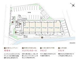 昭和通りを一歩入った住宅地エリアに、のびやかなスケールで生まれるレジデンス。