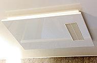 防カビ・結露防止に効果を発揮。事前に浴室を暖めておけば、寒い日でも快適です。