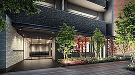 木々に囲まれたゲートを抜けると、そこは格調高い空間。迎賓の美学に彩られた風格と、機能性を兼ね備えています。