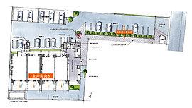 開放感と独立性、私邸としてのゆとりを重視した敷地計画&共用施設。
