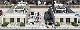 入居者を温かく迎え入れるエントランスファサード、ホテルライクな非日常を体感できるラウンジスペースに加え、全戸にフラットパーキング(平置き駐車場)を完備し、アクティブかつ優越感のある暮らしを映し出します。