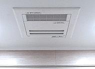 雨天や夜間などの洗濯物の乾燥をはじめ、浴室の換気、暖房、送風などの機能を備えた、便利な浴室換気乾燥機です。