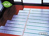 省エネ効果の高い「TES温水式床暖房」。