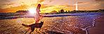 片瀬海岸東浜海水浴場約360m(徒歩5分)※掲載の写真(平成27年6・7月撮影) は、CG処理したもので実際とは異なります。建物の位置を表現した光は建物の規模や高さを示すものではありません。