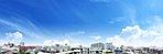 眺望写真 ※現地5階住戸(Iタイプ・508号室)バルコニーから平成28年8月撮影したものに、一部空など加工しております。