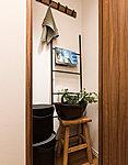 季節のものや大きな家電などもしっかり収納する納戸を設置。家族みんなで使えます。※一部タイプを除く